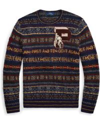 Pink Pony - Fair Isle Wool-blend Jumper - Lyst