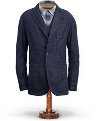RRL - Cotton-linen-denim Sport Coat - Lyst