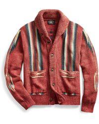 RRL - Cotton-linen-silk Cardigan - Lyst