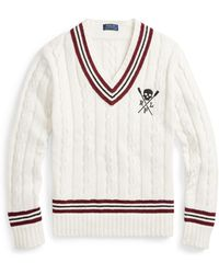 Polo Ralph Lauren - Cotton-blend Cricket Sweater - Lyst
