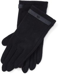 Ralph Lauren - Wool-blend Tech Gloves - Lyst