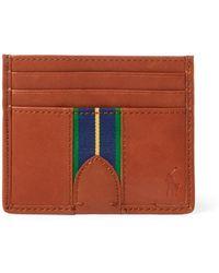 Polo Ralph Lauren - Grosgrain-stripe Card Case - Lyst