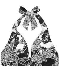 Ralph Lauren - Floral-print Halter Top - Lyst