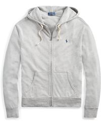 Polo Ralph Lauren - Classic Fit Spa Terry Hoodie - Lyst