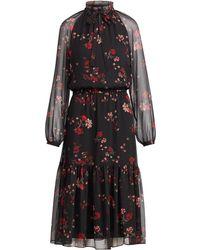 Ralph Lauren - Floral Georgette Dress - Lyst