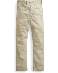 RRL - Cotton Chino Pant - Lyst