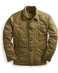 RRL - Quilted Chore Jacket - Lyst