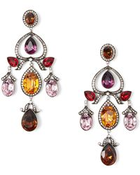Ralph Lauren - Cosmic Chandelier Earrings - Lyst