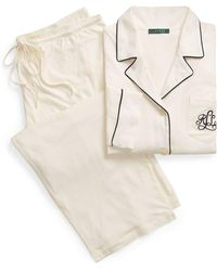 Ralph Lauren - Cotton Jersey Pajama Set - Lyst