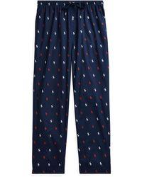 Polo Ralph Lauren - Pantalon de pyjama jersey de coton - Lyst