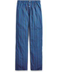Polo Ralph Lauren - Plaid Woven Cotton Pajama Pant - Lyst