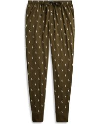 Polo Ralph Lauren - Allover Pony Cotton Jogger - Lyst