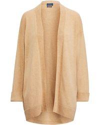 Polo Ralph Lauren - Wool Open-front Jumper - Lyst