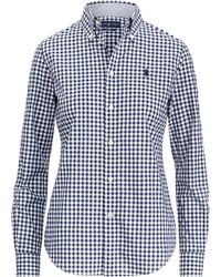 Polo Ralph Lauren - Slim Fit Gingham Poplin Shirt - Lyst