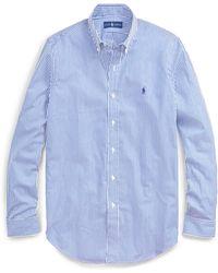 Polo Ralph Lauren - Bengal-stripe Poplin Shirt - Lyst