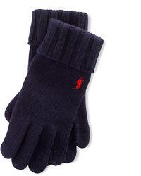 Polo Ralph Lauren - Wool Gloves - Lyst