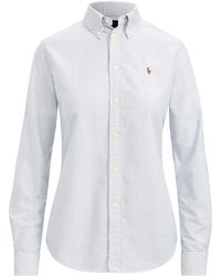 Polo Ralph Lauren - Custom Fit Striped Shirt - Lyst