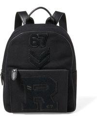 Ralph Lauren - Patchwork Wool Backpack - Lyst
