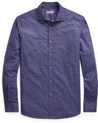 Ralph Lauren Purple Label - Plaid Shirt - Lyst