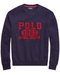 Polo Ralph Lauren - Cotton Graphic Jumper - Lyst
