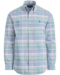 Ralph Lauren - Plaid Performance Twill Shirt - Lyst