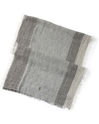 Polo Ralph Lauren - Striped Linen Scarf - Lyst