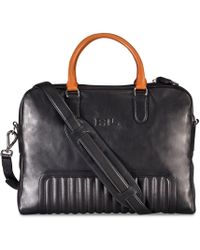Ralph Lauren - Leather Quilted Briefcase - Lyst