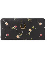Ralph Lauren - Saffiano Leather Wallet - Lyst