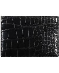 Ralph Lauren - Alligator Card Case - Lyst