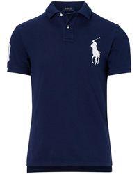 Polo Ralph Lauren | Slim-fit Big Pony Polo Shirt | Lyst