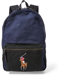 Polo Ralph Lauren - Canvas Big Pony Backpack - Lyst