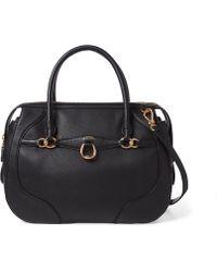 Ralph Lauren - Leather Large Satchel - Lyst