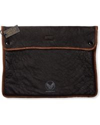 RRL - Shearling Laptop Case - Lyst