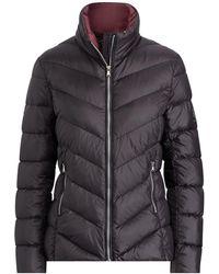 Lauren by Ralph Lauren - Packable Quilted Jacket - Lyst