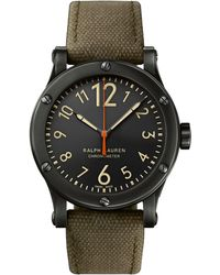 Ralph Lauren - 45 Mm Chronometer Steel - Lyst