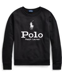 Polo Ralph Lauren - Polo Cotton Fleece Sweatshirt - Lyst