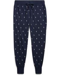 Polo Ralph Lauren - Allover Pony Sleep Jogger - Lyst