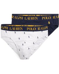 Polo Ralph Lauren - Cotton Comfort Brief 2-pack - Lyst