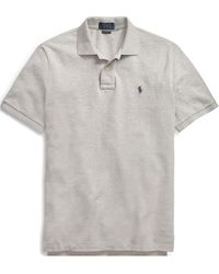 Polo Ralph Lauren - Slim Fit Mesh Polo Shirt - Lyst