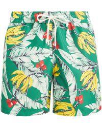 2c863671d22 Lyst - Short de Bain Homme Ralph Lauren pour homme en coloris Vert