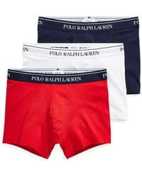 Polo Ralph Lauren - Stretch-cotton Trunk 3-pack - Lyst