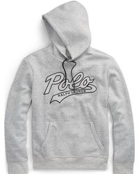 Polo Ralph Lauren | Embroidered Double-knit Hoodie | Lyst