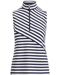 Ralph Lauren Golf - Tailored Fit Striped Golf Polo - Lyst
