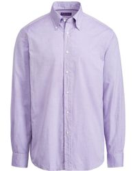 Ralph Lauren Purple Label - Oxford Shirt - Lyst