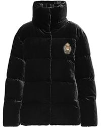 Polo Ralph Lauren - Velvet Down Jacket - Lyst