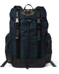 Lyst - Polo Ralph Lauren Painted Striped Backpack in Blue for Men fa6e66589f0d8