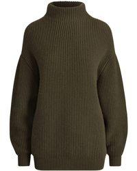 Ralph Lauren - Cashmere Funnelneck Sweater - Lyst