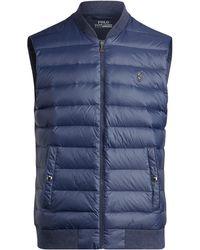 Polo Ralph Lauren - Active Fit Down-paneled Vest - Lyst