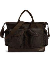 b814dfef26 RRL Emerson Shoulder Bag in Brown for Men - Lyst
