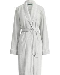 Ralph Lauren - Quilted Shawl-collar Robe - Lyst